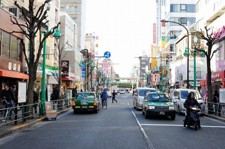 新宿にあるシェアハウスの近隣
